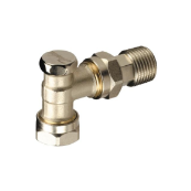 DANFOSS ANGLED LOCKSHIELD VALVE 8/10MM