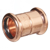 54MM M-PRESS STRAIGHT COUPLING COPPER