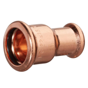 28MMX22 M-PRESS STRAIGHT REDUCER COPPER