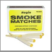 REGIN SMOKE MATCHES PKT 12